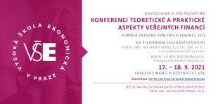 Pozvánka na plenární zasedání konference